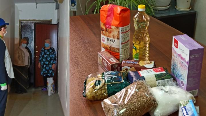 Самарским пенсионерам раздадут сухпайки