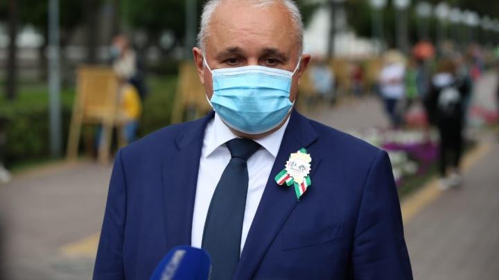 «Этот рост — плановый»: Сергей Цивилев прокомментировал ситуацию с коронавирусом в Кузбассе