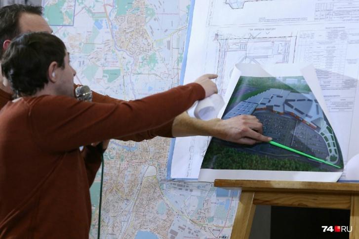 Проект планировки территории утвердили на публичных слушаниях год назад