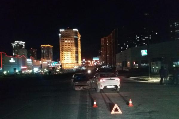 Авария произошла на нерегулируемом пешеходном переходе