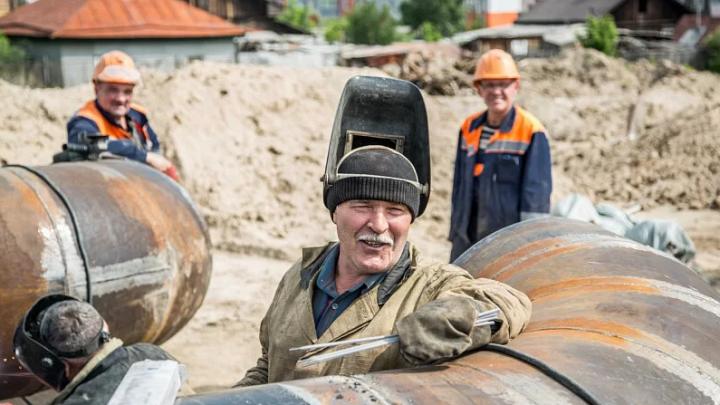 СГК в 2020 году выполнит беспрецедентный объем работ по перекладке и строительству теплосетей в Красноярске