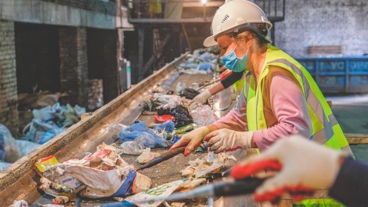 В Лобаново открыли новый мусоросортировочный комплекс. На него везут отходы из Индустриального района