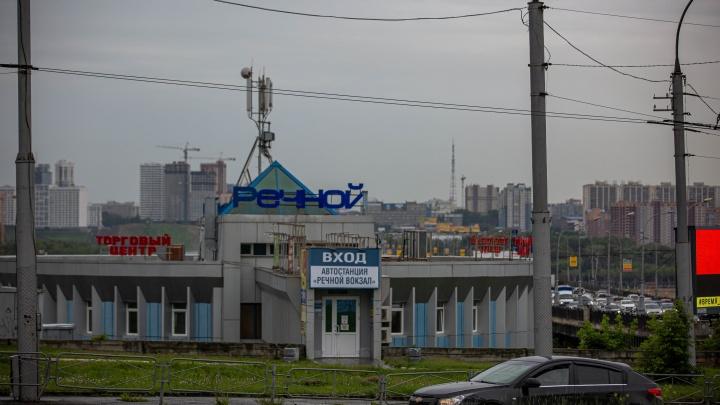 Уволенные сотрудники новосибирского автовокзала открыли свою автостанцию на Речном вокзале. Репортаж