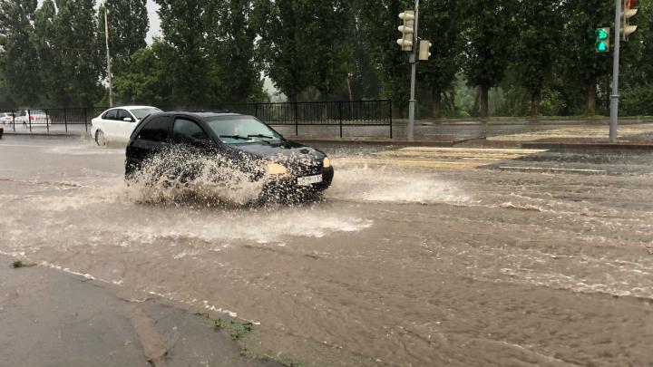 В Ростове улицу Малиновского начнут закрывать на время ливней