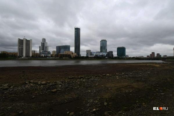 В Городском пруду понизили уровень воды