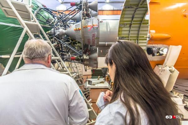 На самарском заводе производят ракеты-носители среднего класса
