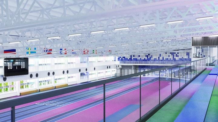 В легкоатлетическом манеже Челябинска старое покрытие заменят на новое — гламурное