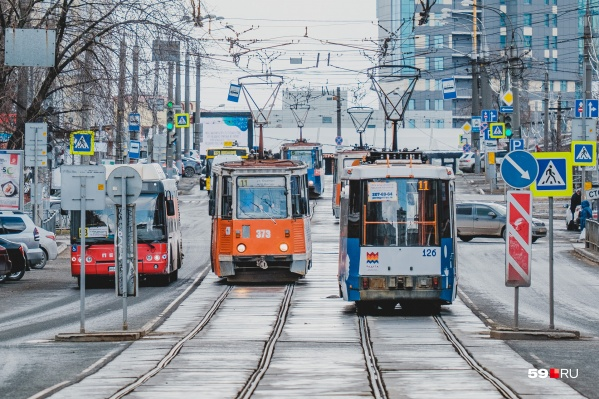 С 1 по 10 января общественный транспорт будет работать по воскресному расписанию