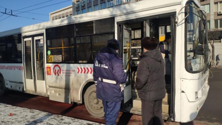 На автобусе №51 нашли лишенного прав маршрутчика