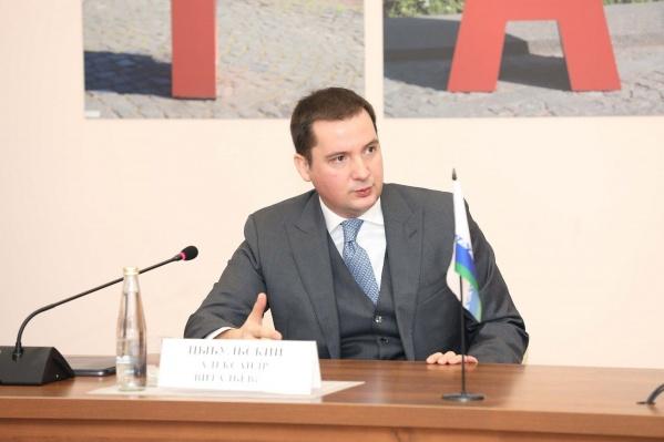 Сегодня, 5 апреля, Александр Цыбульский обратился к жителям Архангельской области