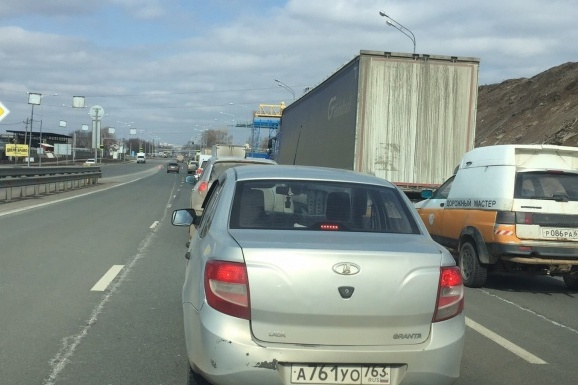 Такая ситуация была на Кировском мосту