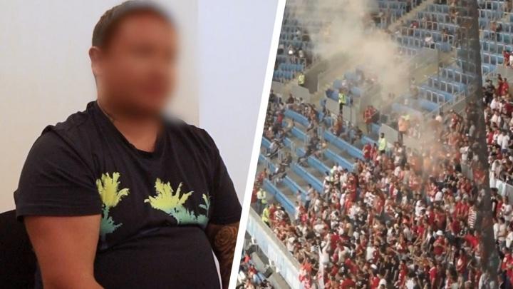 «Что курить нельзя — знал, а про это не догадывался»: в Волгограде фанат «Спартака» арестован на семь суток