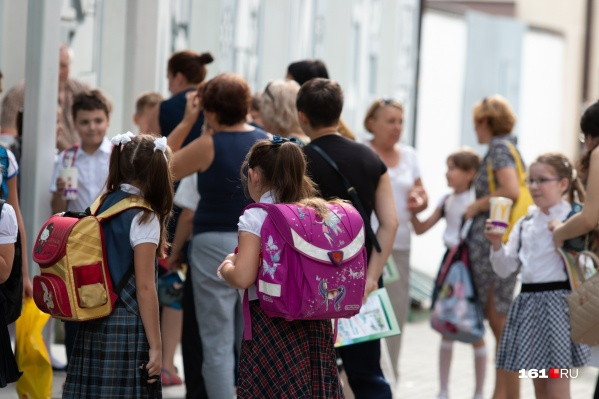 В школах Ростова учатся более 110 тысяч детей