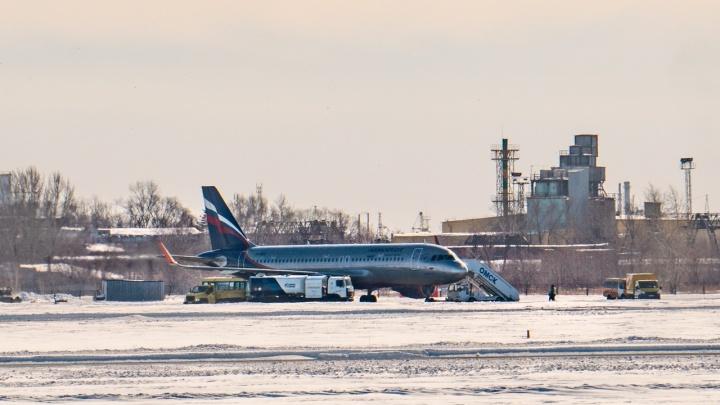 Оперативные службы не нашли взрывчатку в самолёте из Москвы