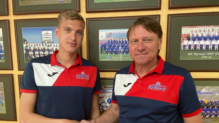 Первый трансфер в новой лиге: омский «Иртыш» подписал 23-летнего барнаульского нападающего