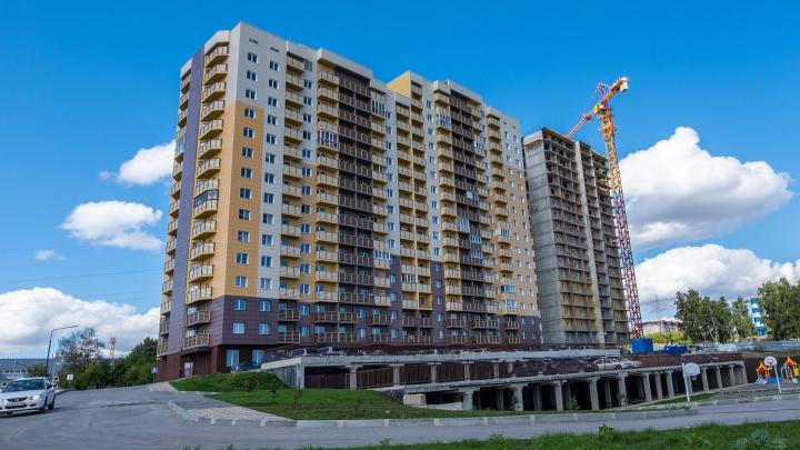 Соседи далеко: в Советском районе строят дом, рядом с которым только река, а квартиры стоят от 1,6 млн рублей