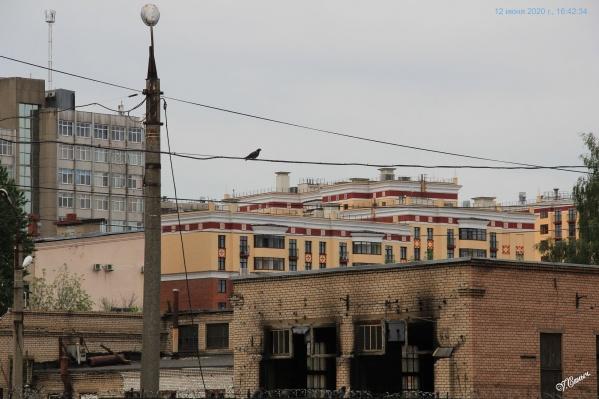 На месте троллейбусного депо построят ещё один жилой комплекс