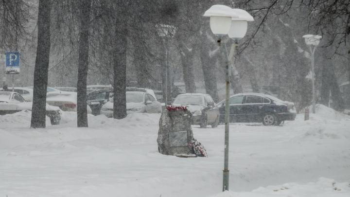 МЧС предупреждает пермяков о метелях, гололеде и похолодании до -25 градусов