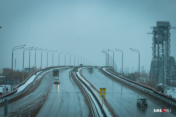 Зима пришла в Ростов