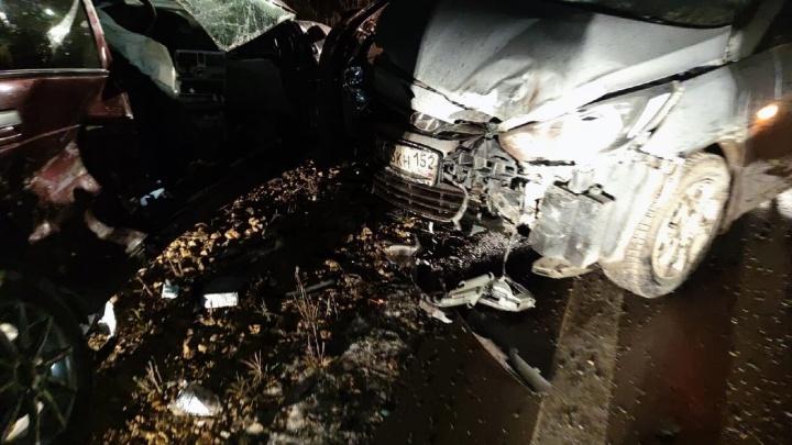 В Дивеевском районе произошла страшная авария. Три человека погибли