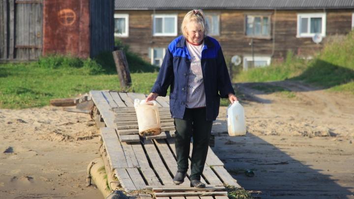 Талоны на воду в Архангельске теперь продают на месте подвоза