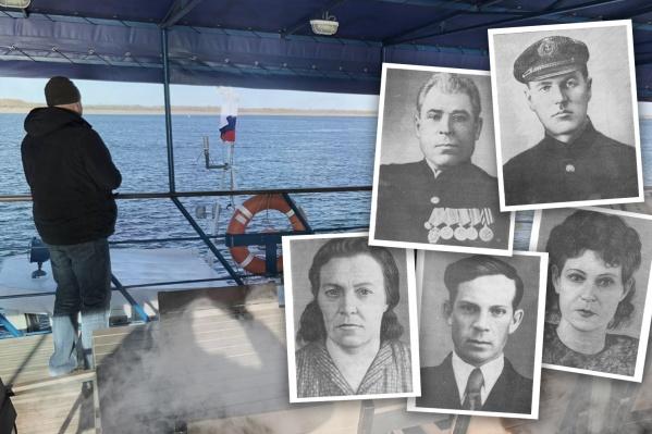 Судно и его погибший экипаж больше 75 лет пролежали на дне Волги