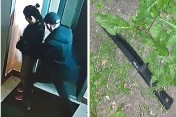Нападавший ударил 17- летнюю девушку два раза ножом в спину