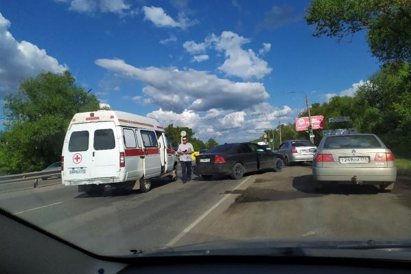 ДТП произошло на въезде в город со стороны Челябинска