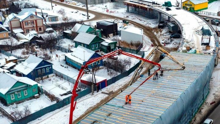 Новый выезд из Самары: как продвинулось строительство второй очереди Фрунзенского моста