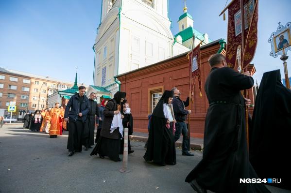 Крестный ход — традиция престольного праздника