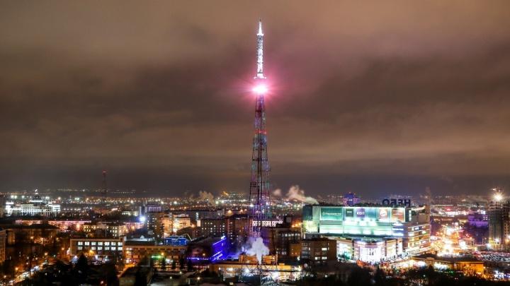 Праздничную подсветку включат на нижегородской телебашне в честь 23 Февраля