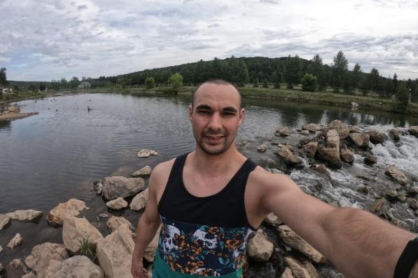 Алик Шарафутдинов предпочитает отдыхать вдали от людей
