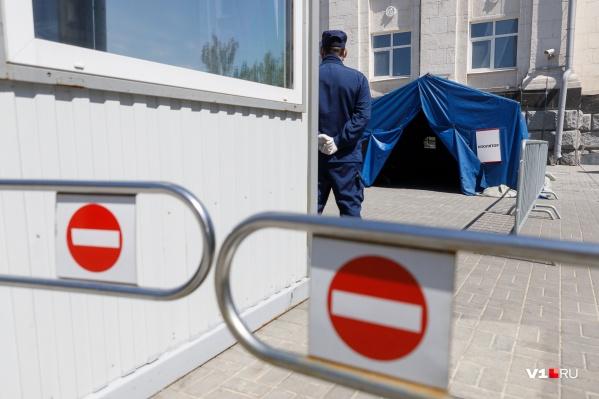 Волгоградцы уже не раз задавали вопрос о закрытии границ