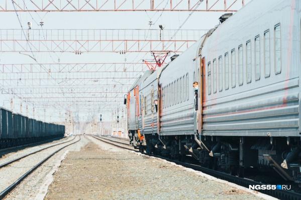 В поездах действует масочный режим