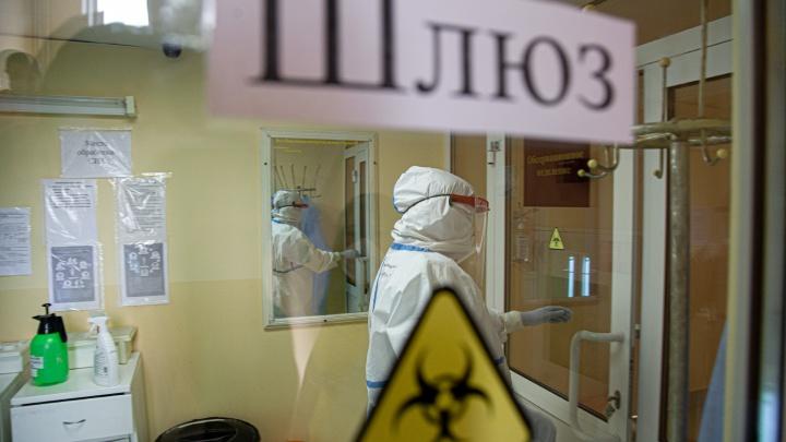 За сутки в Красноярском крае выявлено 376 новых больных. Один человек умер