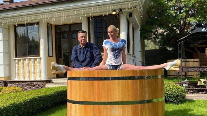 Волочкова выставит свою купель на аукцион, чтобы оплатить штрафы за визит в Дивеево