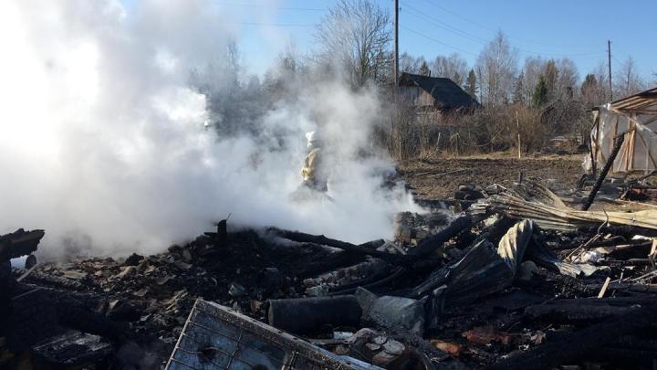 Число погибших на пожаре в Воскресенском районе выросло, остальные в тяжелом состоянии