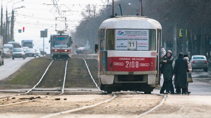 На пересечении Ново-Вокзальной и Московского шоссе построят трамвайную остановку