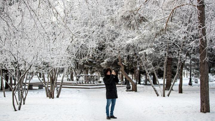 В Новосибирске за день резко потеплеет на 28 градусов