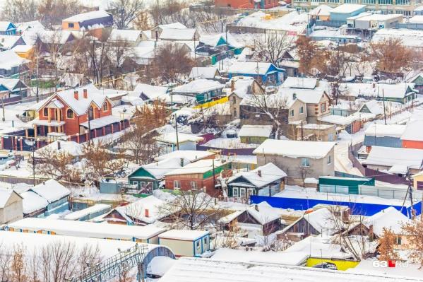 Частные сектора встречаются практически во всех районах областной столицы