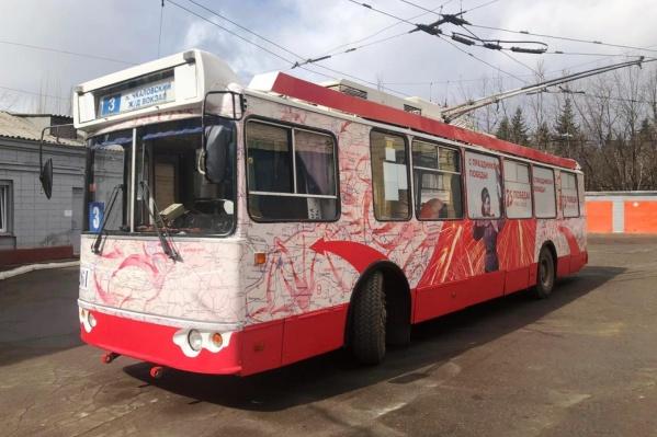 Троллейбус вышел на линию уже сегодня
