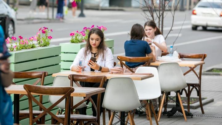 Выручка красноярских ресторанов и кафе с апреля упала на 70%