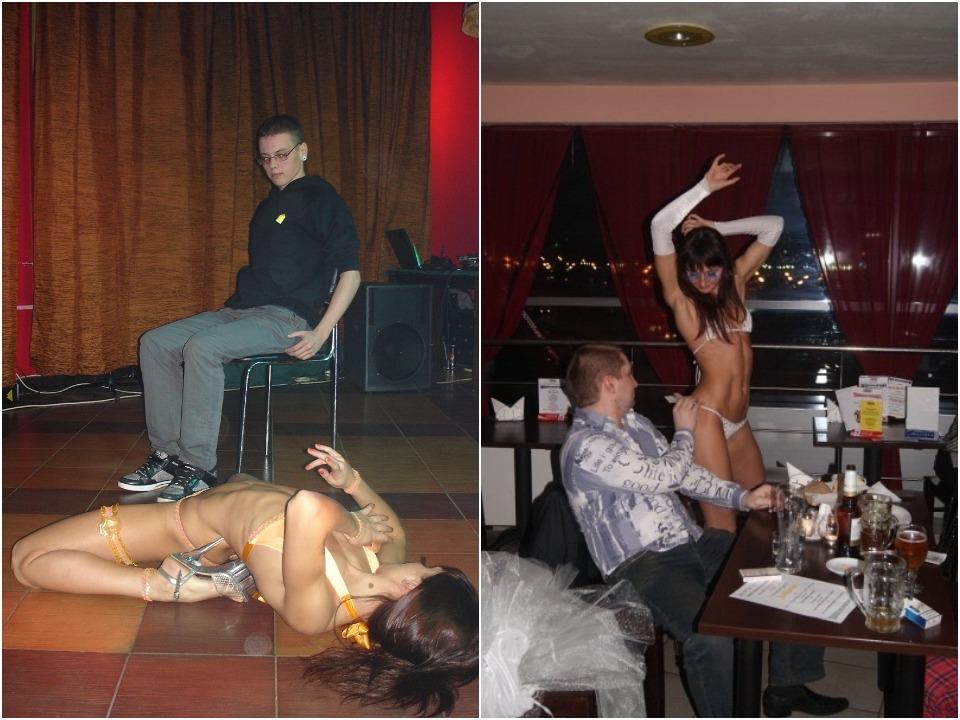 За смену она танцевала от 5 до 10 танцев в общем зале, не считая приватных