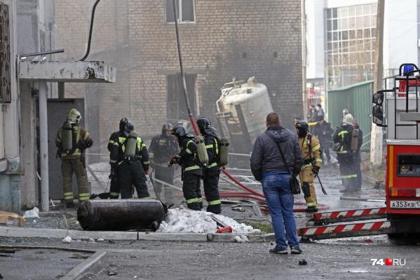 """Кислородная станция в горбольнице <nobr class=""""_"""">№ 2</nobr> взорвалась 31 октября, пострадал сам госпиталь и близлежащие дома"""