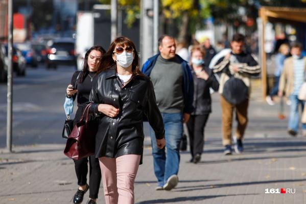 В Ростовской области еще действует режим повышенной готовности