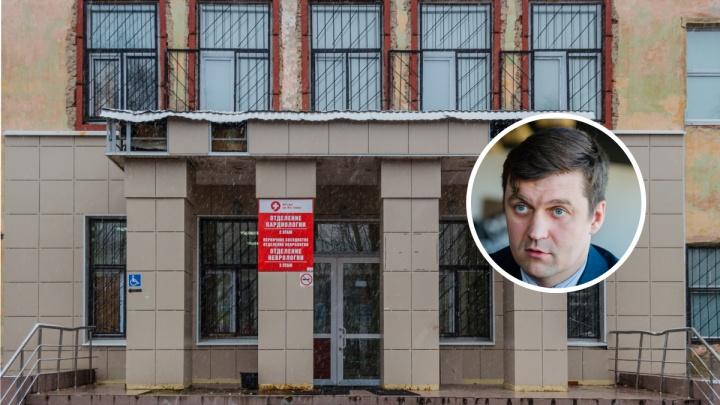 Из замминистра обратно в главврачи. Михаил Суханов возглавил пермскую больницу имени Тверье