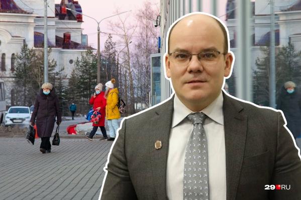Игорь Андреечев комментирует ограничения, которые будут действовать на новогодних каникулах