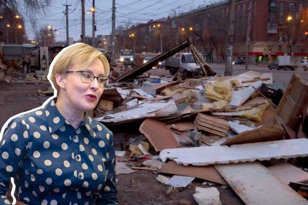 Торговцы считают, что Елена Лапушкина поможет решить вопрос