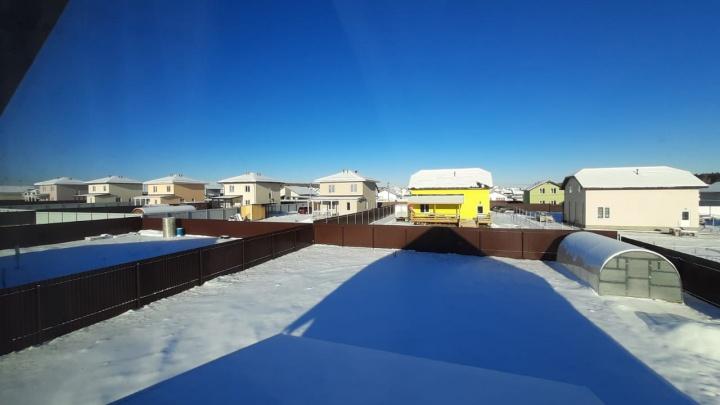 Под Екатеринбургом из-за отключения электричества замерз коттеджный поселок