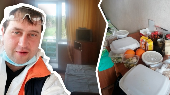 «Здесь воздух родной»: эвакуированный из Якутии южноуральский вахтовик рассказал о жизни на карантине